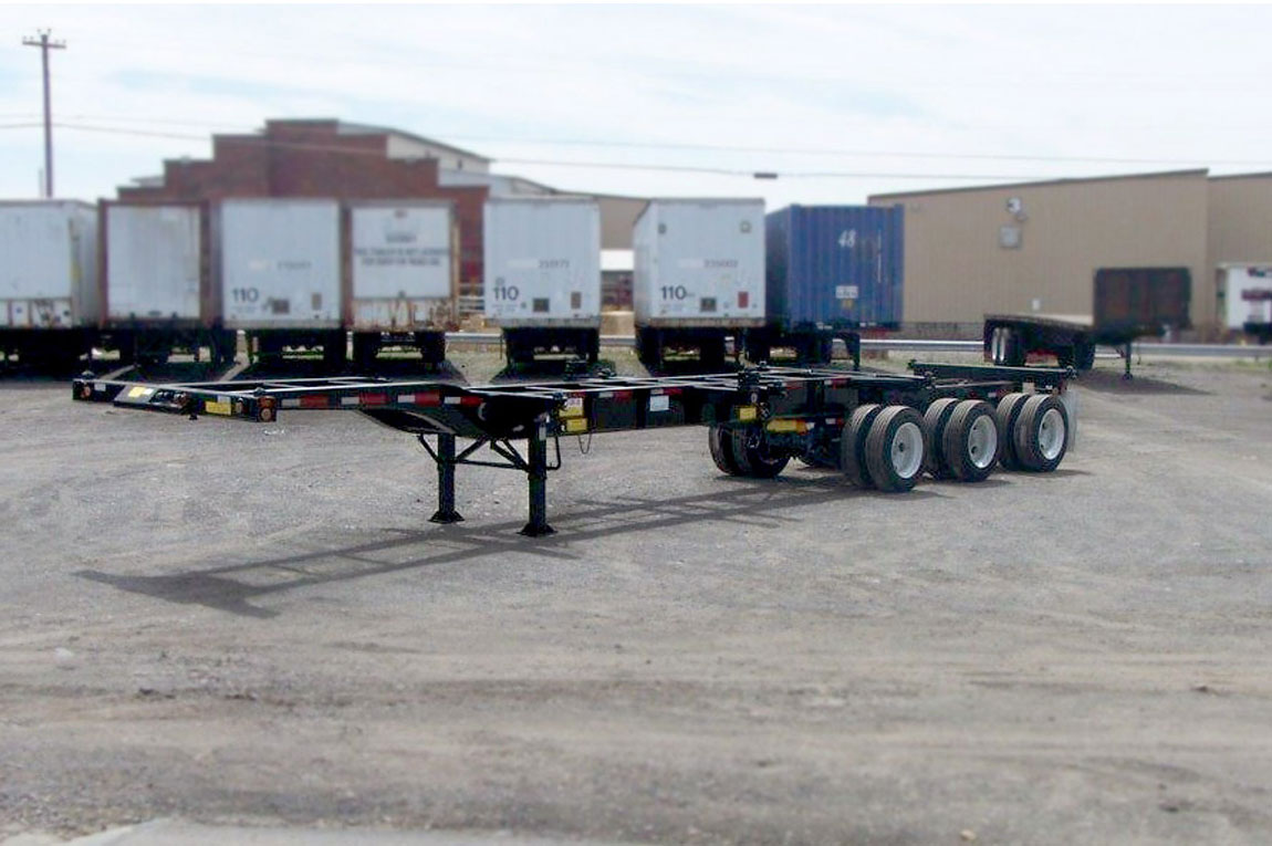 Container Chassis Landing Gear : Hercules chassis newrent inc